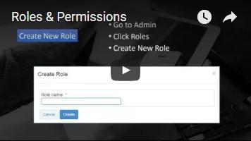 Roles & Permissions