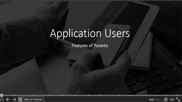 Application Users